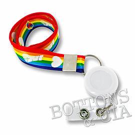 Cordão LGBT Parada Gay Personalizado Porta Cracha
