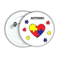 Botons Autismo Quebra Cabeç Persoalizado