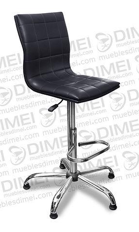 silla para recepcion poltron con base de estrella cromada