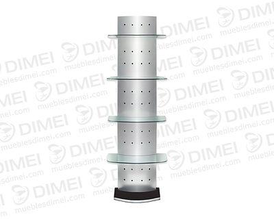 Diseño moderno, solido y durable; cuenta con 4 repisas de cristal de 10 mm. Fabricado en madera con triplay importado de primera forrado con formaica.