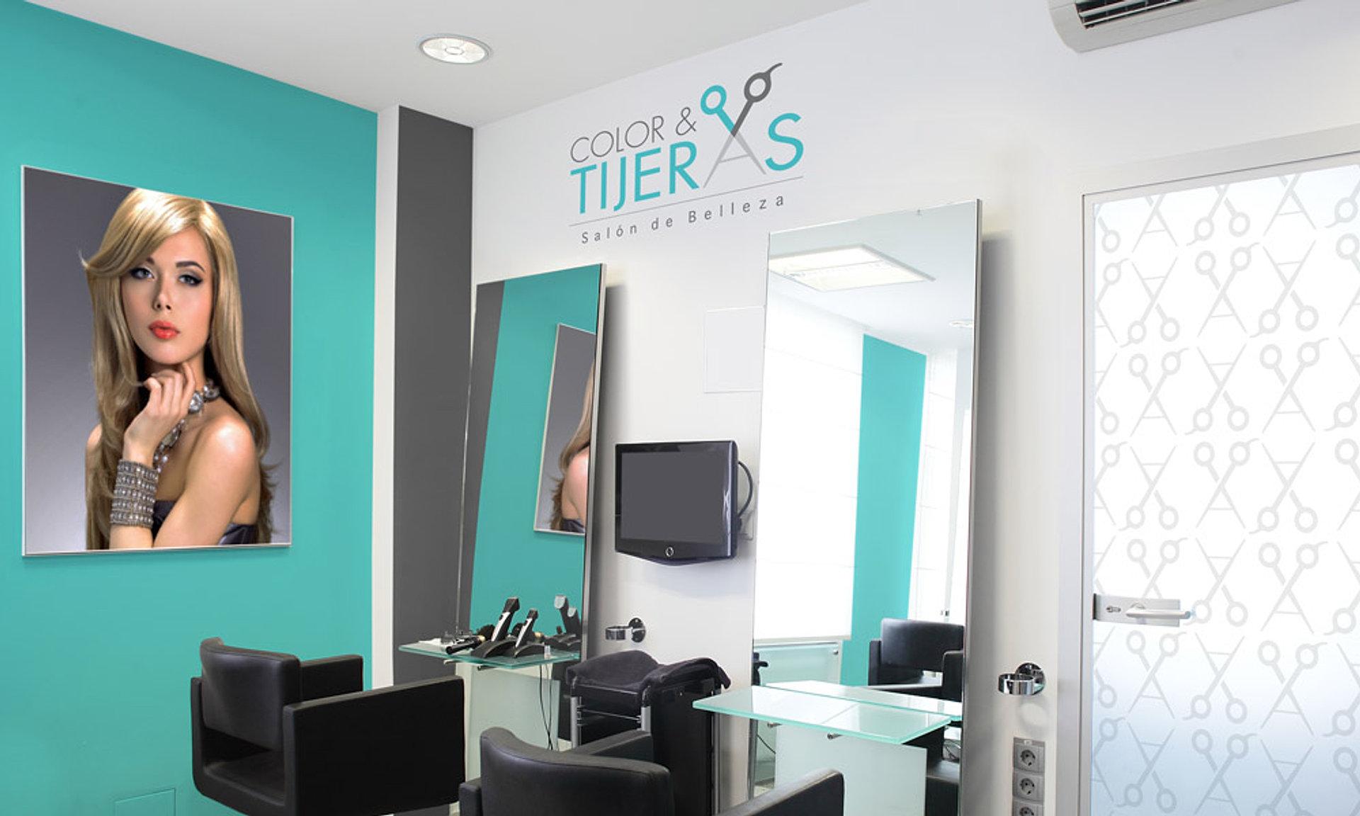Dise o para est ticas salones de belleza spa y peluquer as - Diseno de peluquerias ...