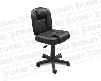 Silla importada con diseño ergonómico confortable multiusos neumática, forrada con vinil de calidad marca plymouth