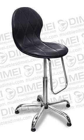 silla para recepcion eclipse con base de estrella cromada