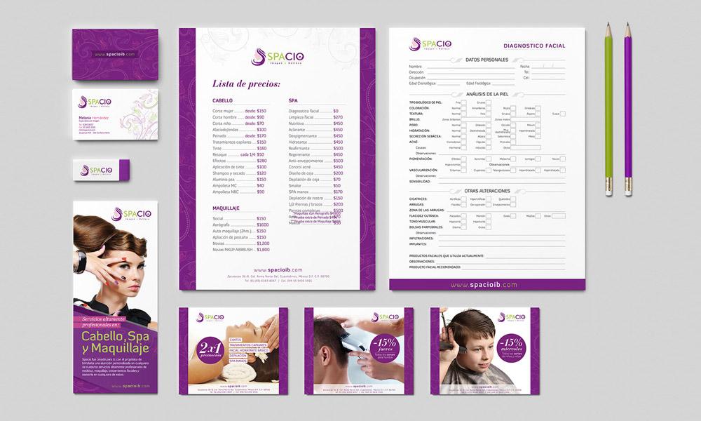 Diseño de publicidad para estéticas