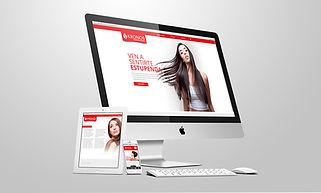 Diseño de pagina web para estéticas, salones de belleza, spa y peluquería