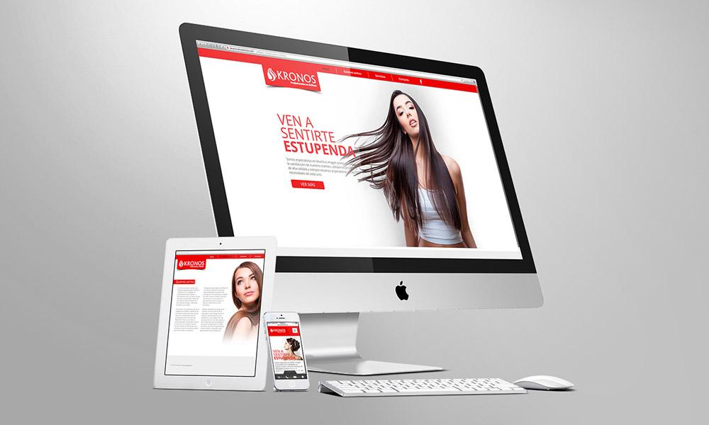 Diseño de Página web para estética