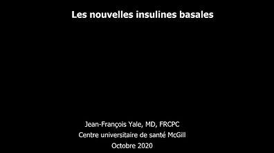 Les insulines basales