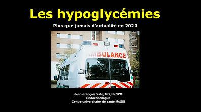 Les hypoglycémies, plus que jamais d'actualité en 2020