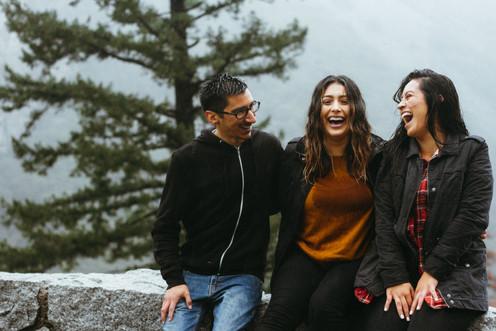 Amis qui rient