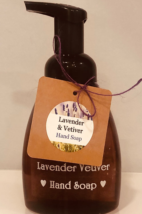 Lavender & Vetiver Hand Soap