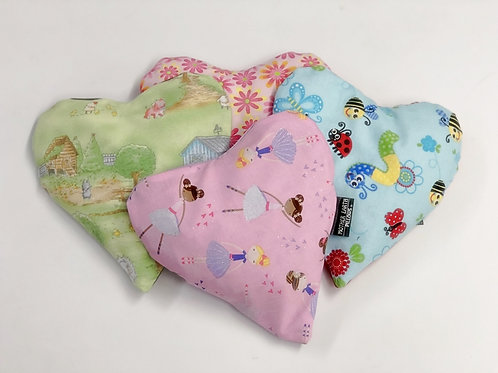 Children's Small Heart Therapeutic Warming Pillow