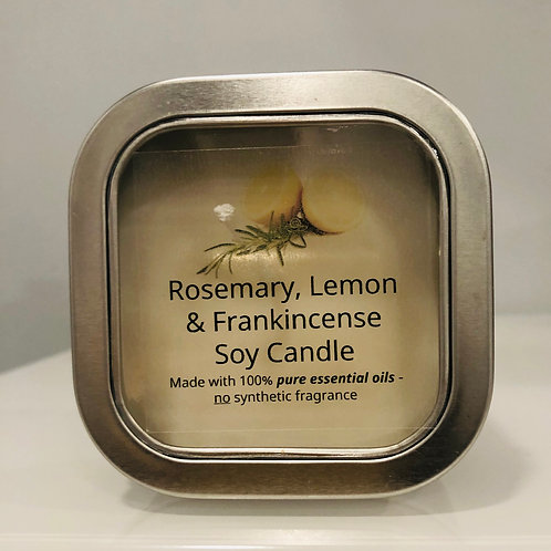 Rosemary, Lemon & Frankincense Candle