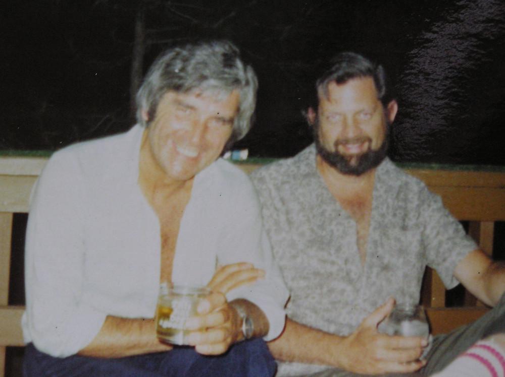 Steve with Bob Lloyd, his agent in California