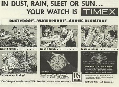 Timex - not so waterproof!