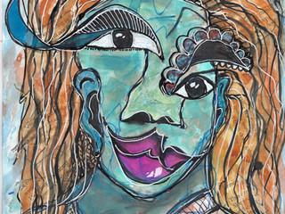 Self-Portrait Painting