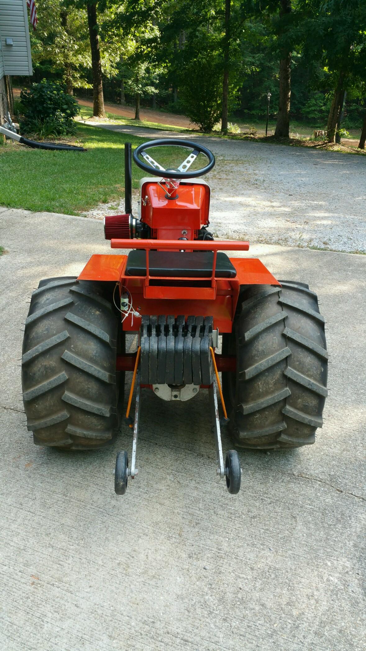 Garden Tractor Pulling Classifieds   Garden Perfect