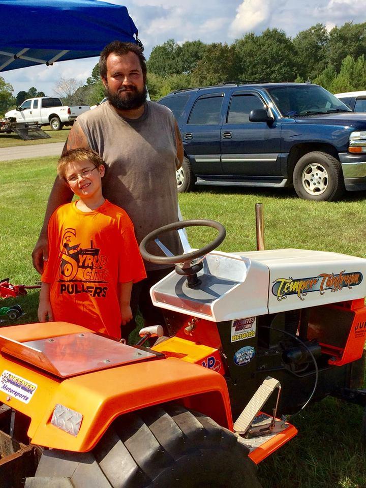 Pulling Garden Tractors