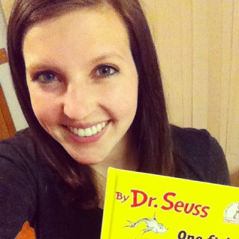 Lindsey loves Dr. Seuss and has a growing collection