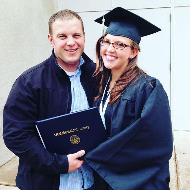 Lindsey's graduation day!