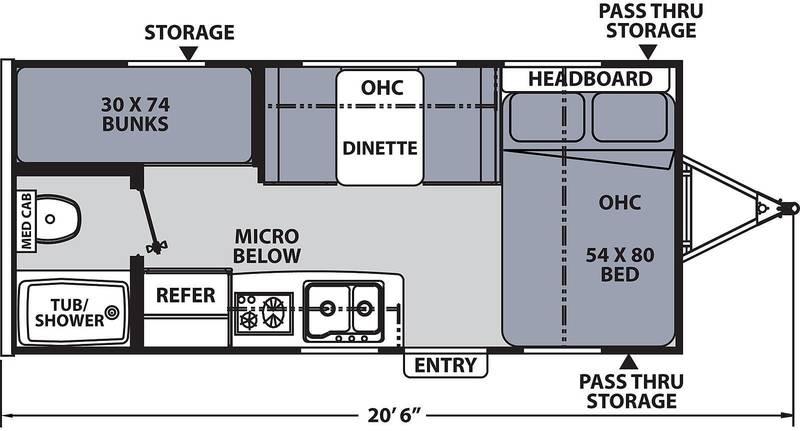 185BH Floorplan