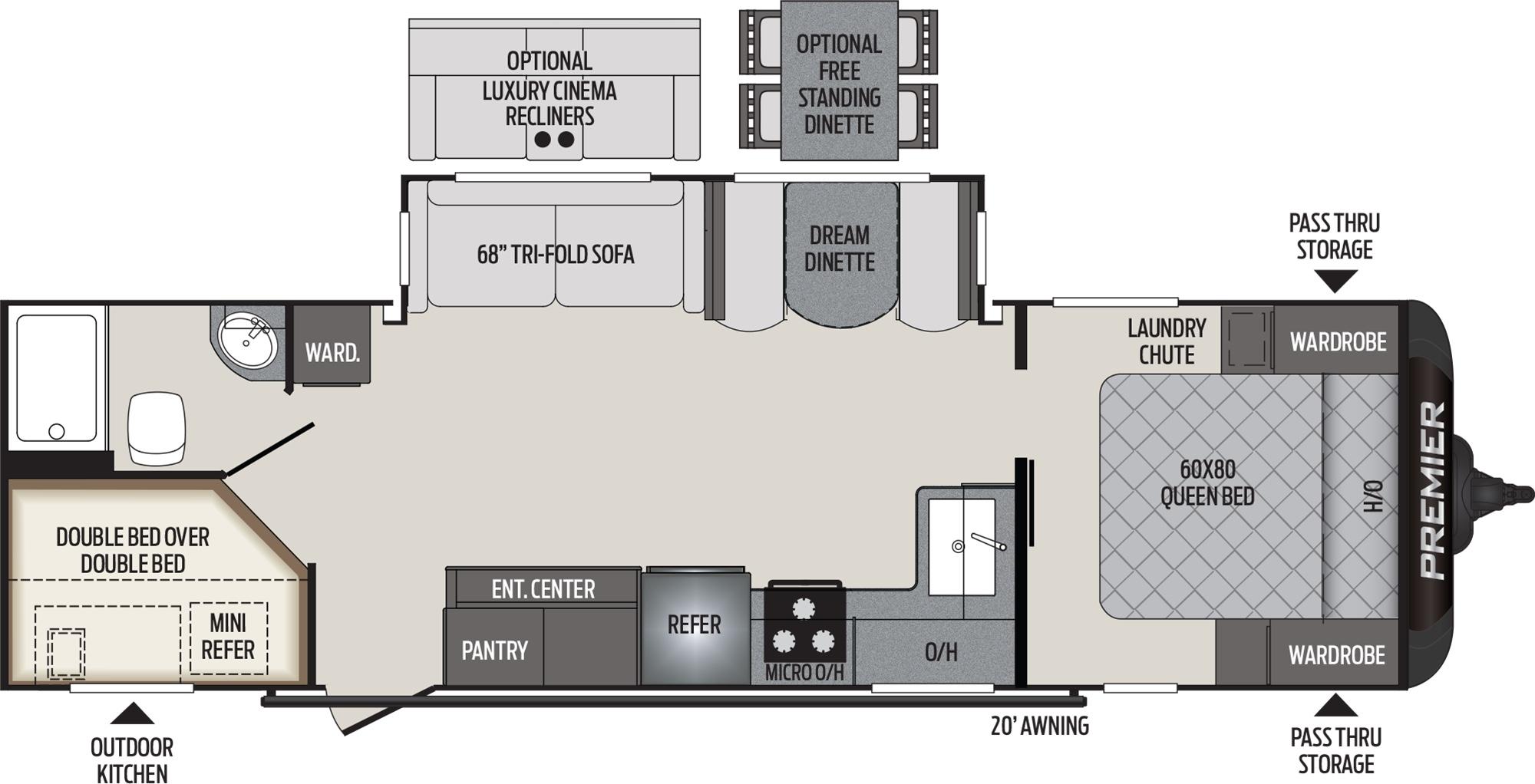 29BHPR Floor Plan