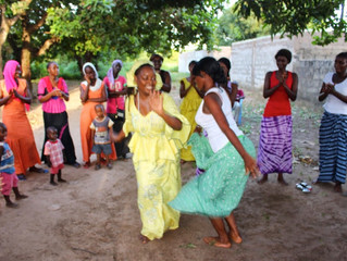 Gambia - A Dance Lesson Become A Community Celebration - October 2014