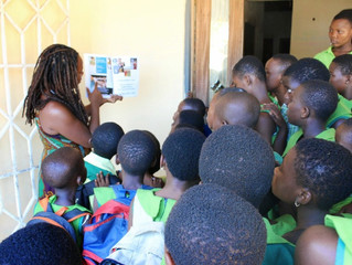 Ghana -Going Away Culmination -October 2014