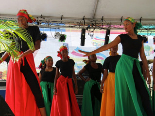 Dominica - Heritage Dances - November 2014