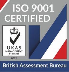 UKAS-ISO-9001 Logo