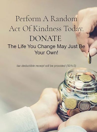 Donate - Random Act of Kindness