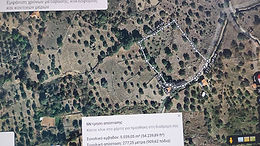 For sale a plot of land even and buildable in Psinia Eresos Lesvos