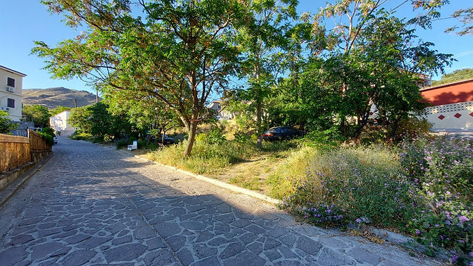 For sale a plot of land in Eresso  Lesvos perfectly buildable within the village