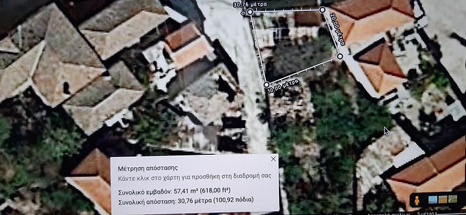 Land for sale in Eressos at a bargain price