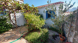 A house ready for habitation for sale fifty meters from the central square of Eressos