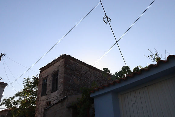 For sale a few meters from the central square of Eressos