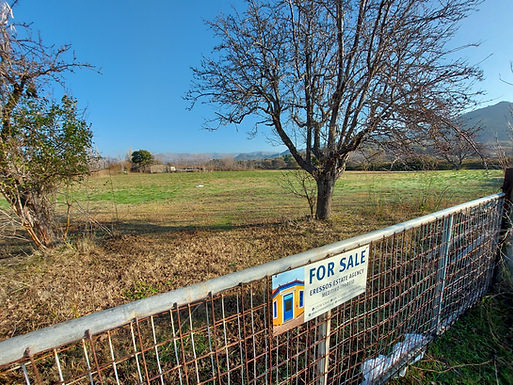 For sale in Skala Eressos 15000sqm even and buildable plot