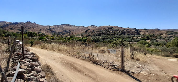 For sale in Eressos a plot of 4015 sqm near the meditation center OSHO