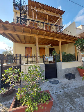 House for sale at the entrance of the village of Eressos Lesvos