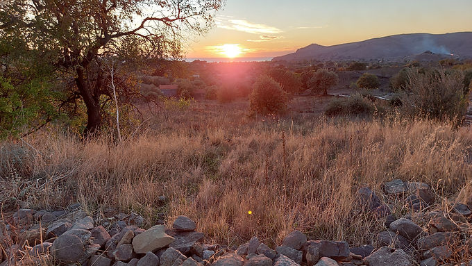 Land for sale in Eressos Lesvos Psinia area even and buildable