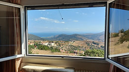 Furnished house with sea view for sale in Antissa Lesvos