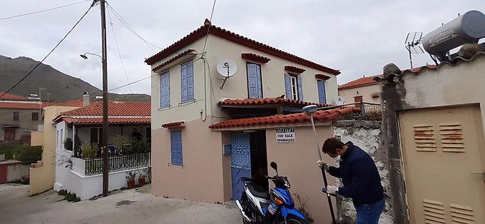 House for sale immediately habitable in Eressos