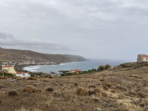 Land for sale with sea view in Tavari Lesvos