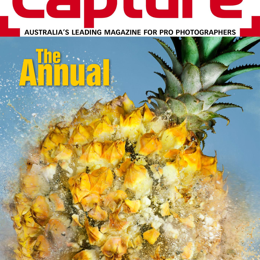 Capture Mag The Annual - Cover