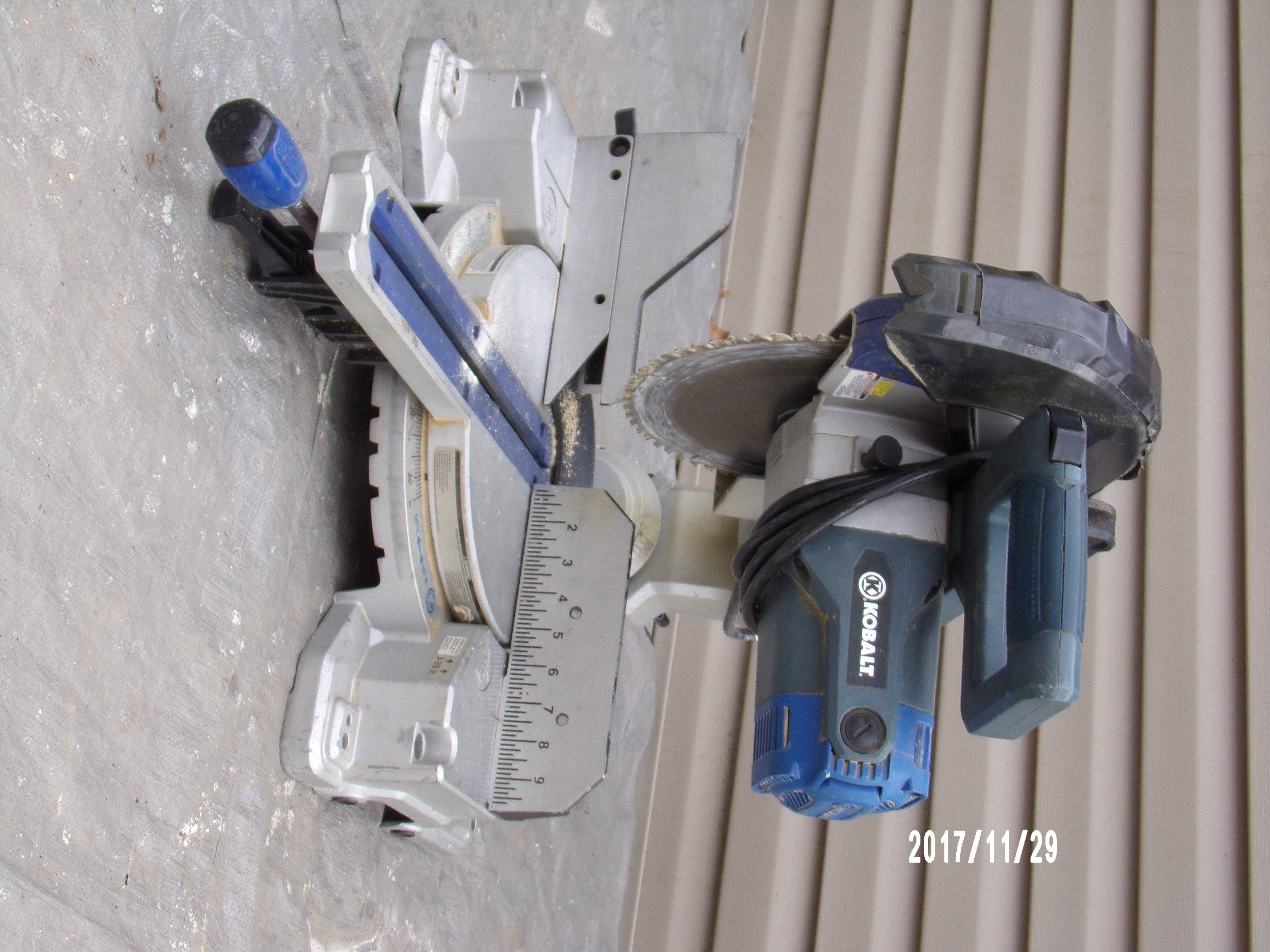 "KOBALT 10"" SLIDING MITER SAW"