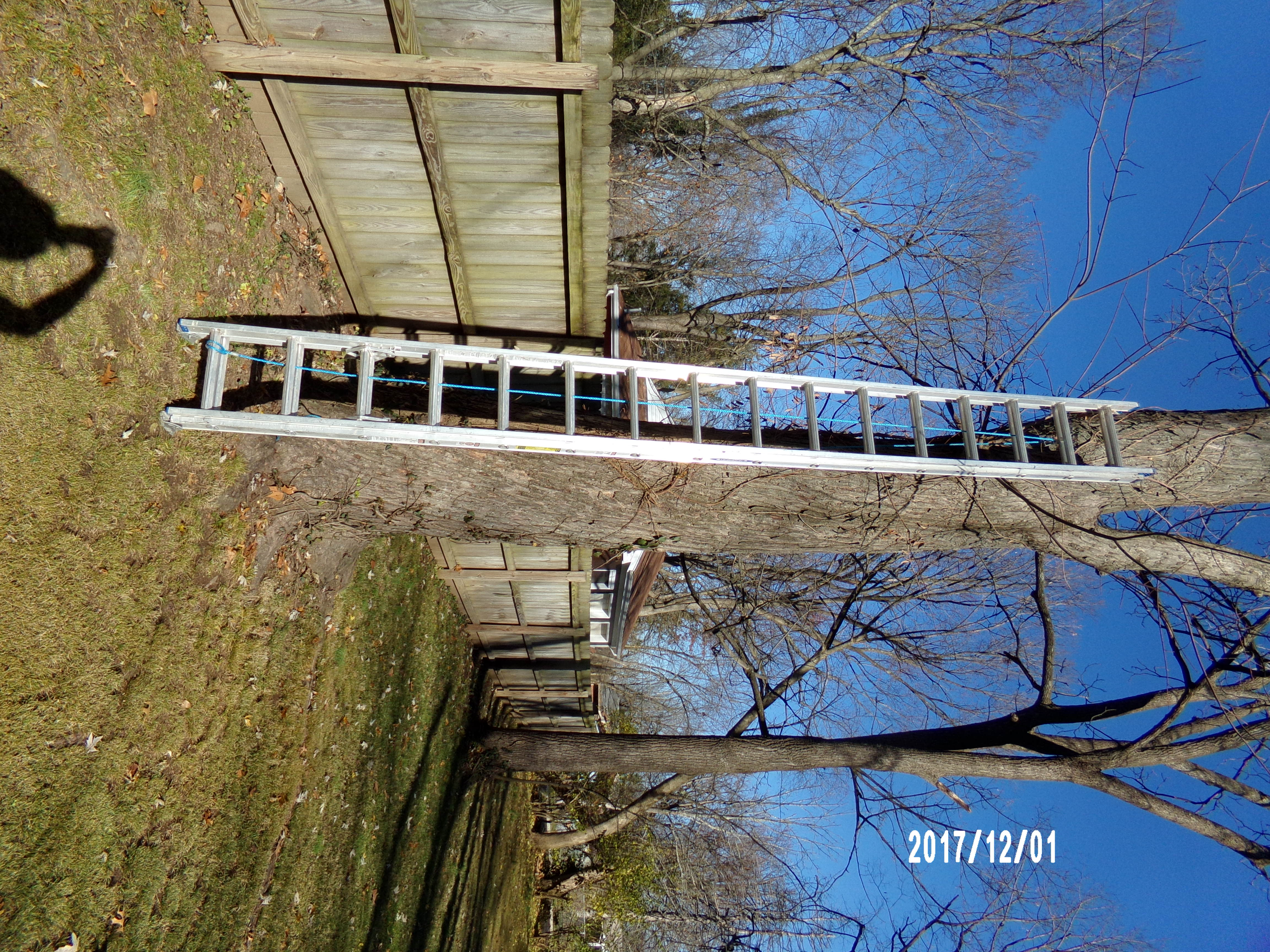 WERNER 32-FOOT EXTENSION LADDER
