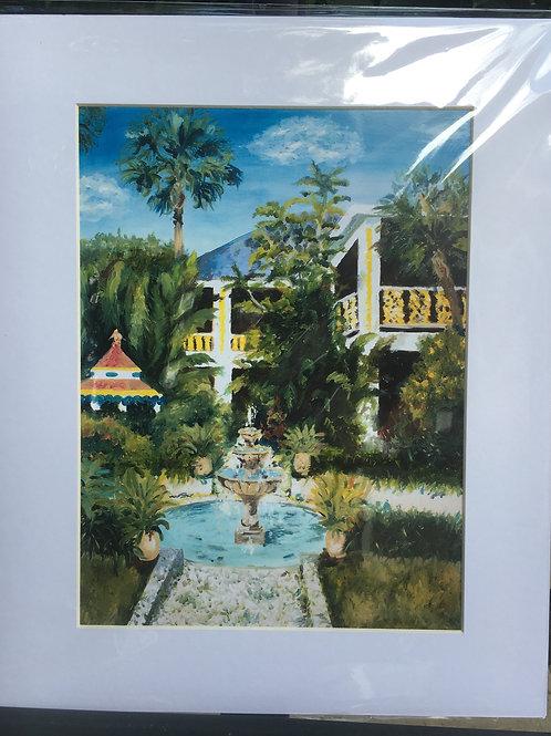 Bonnet House Print
