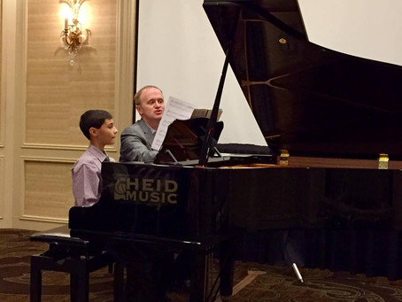 WMTA State Conference 2018 & Kevin Olson Masterclass