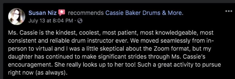 good drum teacher