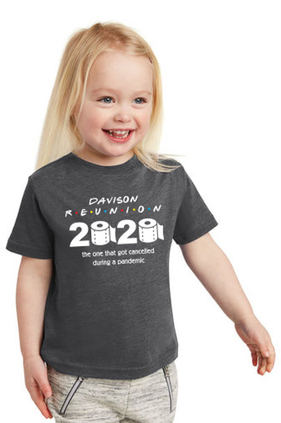 Davison Reunion 2020 Toddler Tee