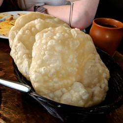 Luchi Puffed Bread